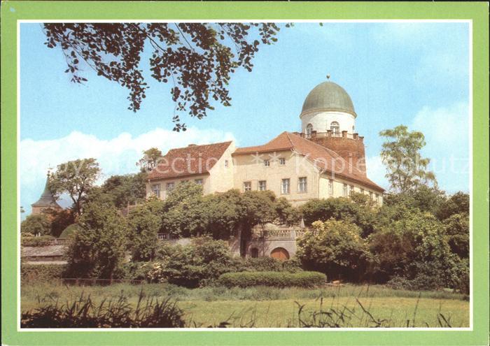kf60964 Lenzen Elbe Burg Kat. Lenzen Elbe