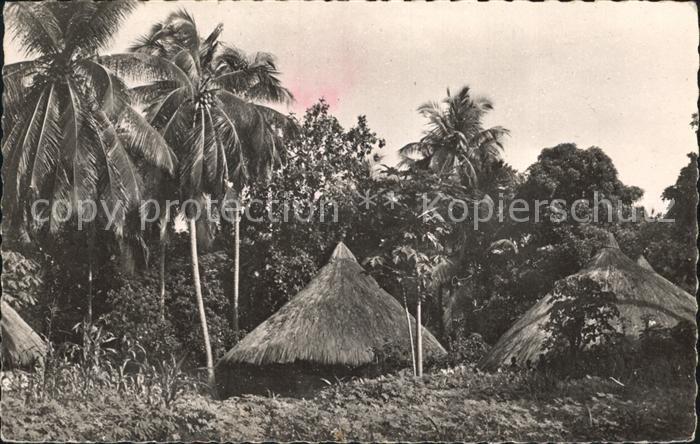 Conakry Cases indigenes Kat. Conakry