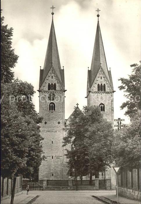 Hecklingen Stassfurt Evangelische Kirche St Georg Kat. Hecklingen Stassfurt