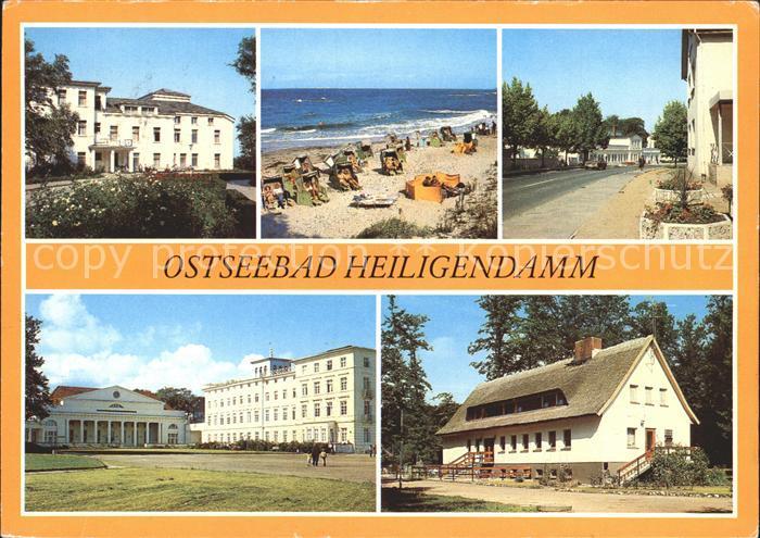 Heiligendamm Ostseebad Maxim Gorki Haus Strand Haus Mecklenburg Betriebsferienheim Kat. Bad Doberan