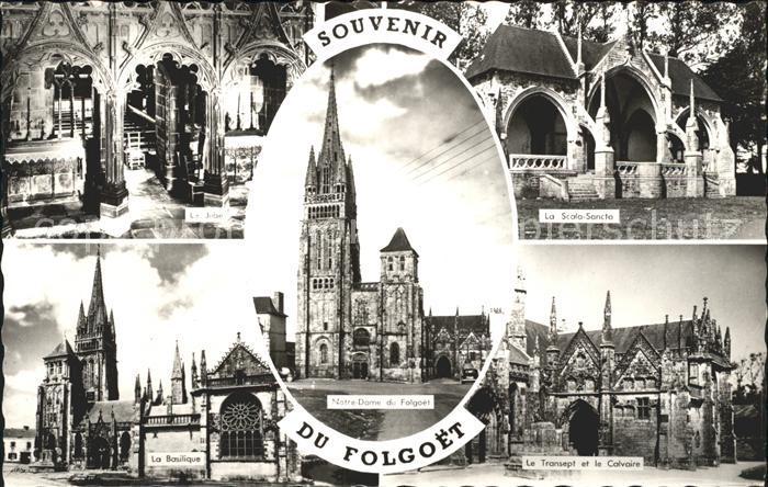 Le Folgoet Le Jube Basilique Notre Dame du Folgoet Scala Sancta Transept et le Calvaire Kat. Le Folgoet