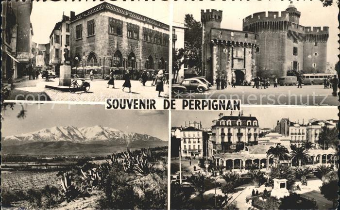 Perpignan Place de la Loge Le Castillet Le Canigou Place Arago Kat. Perpignan