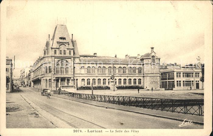 Lorient Morbihan Bretagne La Salle des Fetes Kat. Lorient