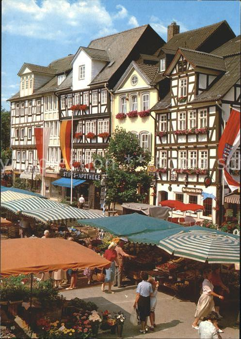 Bad Hersfeld Markt am Linggplatz Kat. Bad Hersfeld