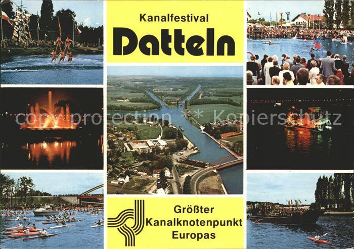 Datteln Kanalfestival  Kat. Datteln