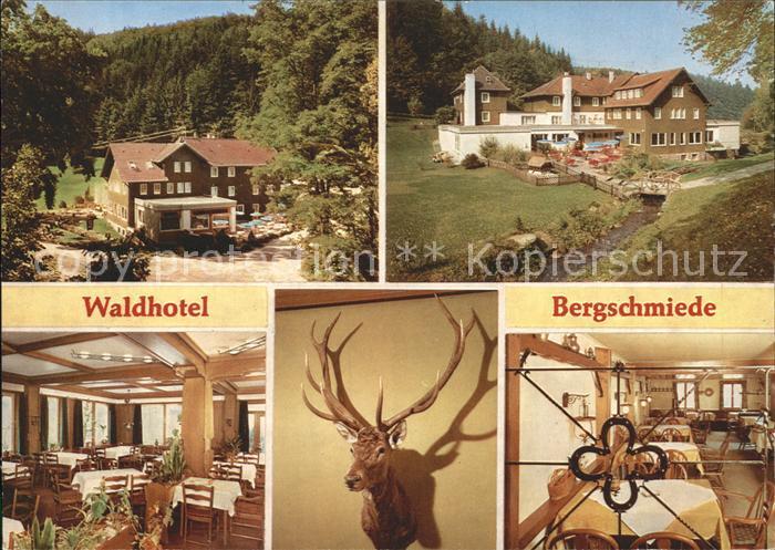 Marxzell Waldhotel Bergschmiede Kat. Marxzell