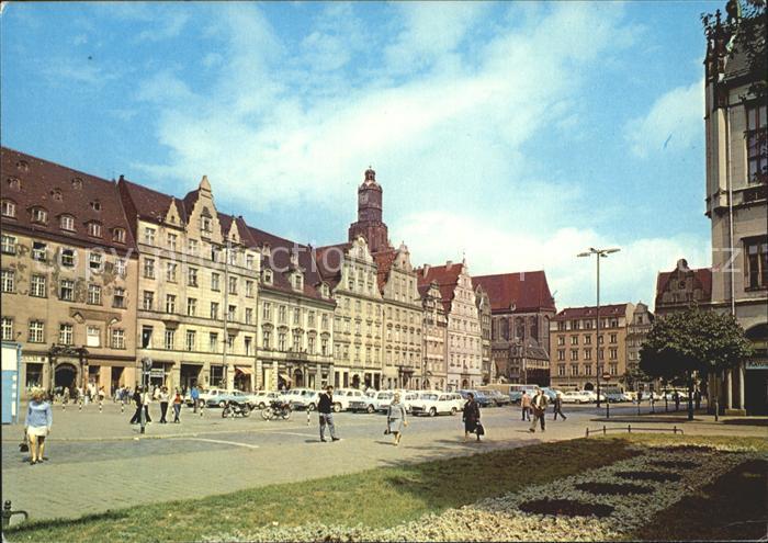Wroclaw Rynek Kat. Wroclaw Breslau