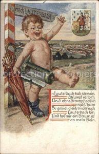 Lauterbach Hessen Wappen Kat. Lauterbach (Hessen)