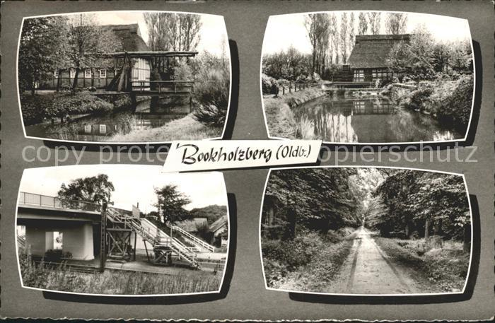 Bookholzberg Teich Bruecken Waldweg Kat. Ganderkesee