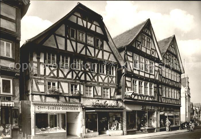 Bad Hersfeld Alte Fachwerkhaeuser in der Weinstrasse Kat. Bad ...