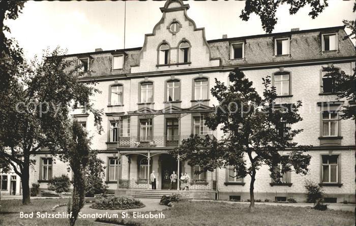 Bad Salzschlirf Sanatorium St Elisabeth Kat. Bad Salzschlirf