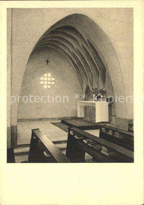 Limburg Lahn Missionshaus der Pallottiner Seitenkapelle Marienkirche Kat. Limburg a.d. Lahn