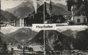 Mayrhofen Zillertal Bahn Strassenpartie Ortsansichten Kat. Mayrhofen