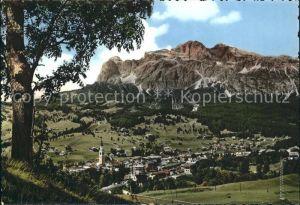 Cortina d Ampezzo verso Le Tofane Dolomiti Dolomiten Kat. Cortina d Ampezzo