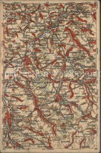 Zwickau Sachsen und Umgebung Landkarte Wona Karte Kat. Zwickau
