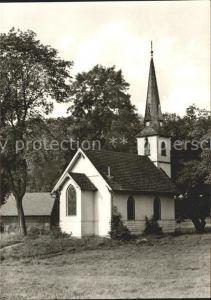 Elend Harz Kleinste Kirche im Harz Kat. Elend Harz