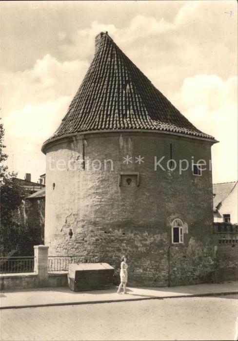Zeitz Steintorturm Kat. Zeitz