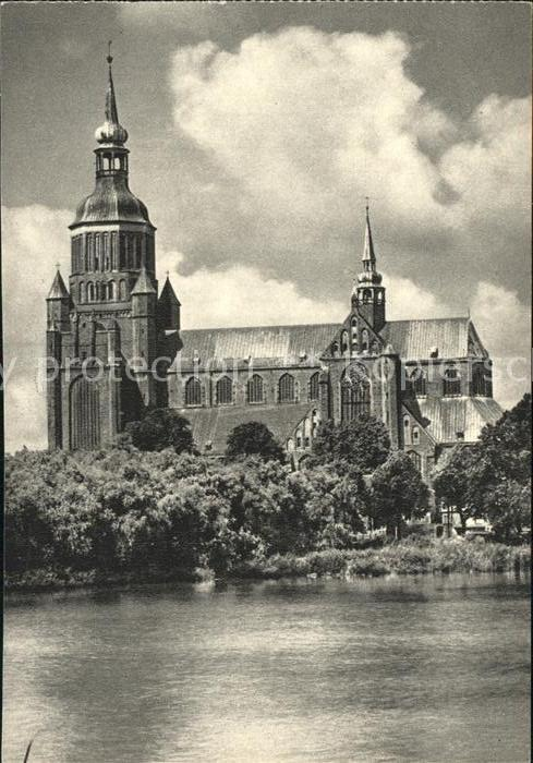 Stralsund Mecklenburg Vorpommern Marienkirche Kat. Stralsund