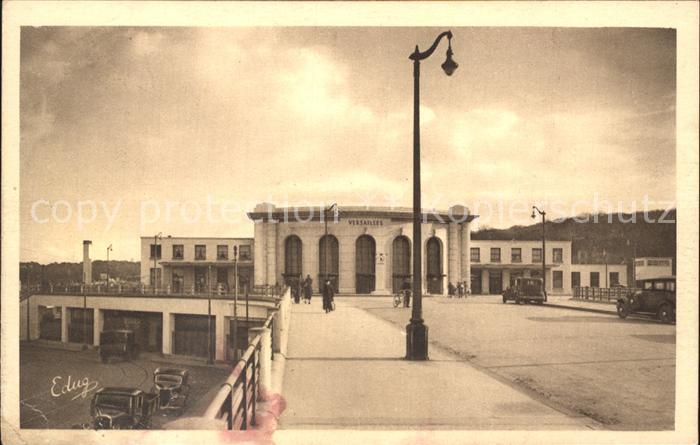 Versailles Yvelines Gare des Chantiers Kat. Versailles