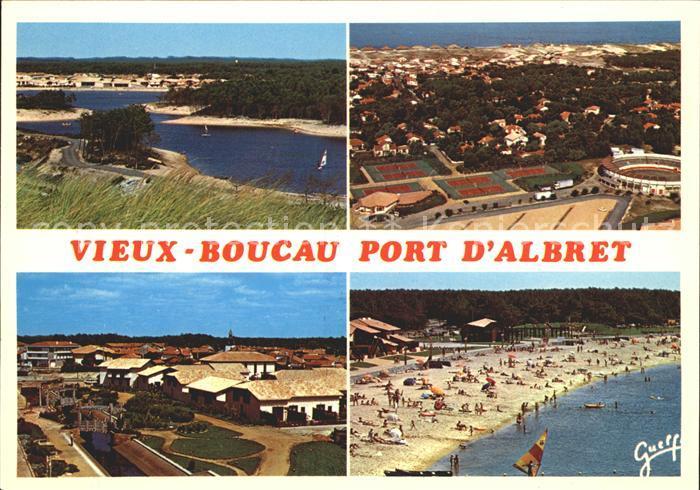 Vieux Boucau les Bains Le lac de Port d Albret Tennis les Arenes Le Mail La plage du lac Kat. Vieux Boucau les Bains