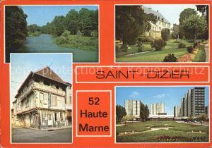 Saint Dizier Haute Marne La Marne Le Musee Une vieille maison Le square et le centre commercial Vert Bois Kat. Saint Dizier
