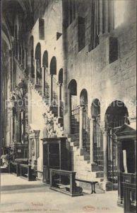 Trento Scala nell Interno del duomo Kat. Trento