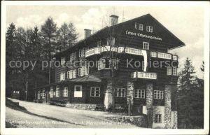 Winterbach Niederoesterreich Lehrererholungsheim  Kat. St. Anton an der Jessnitz