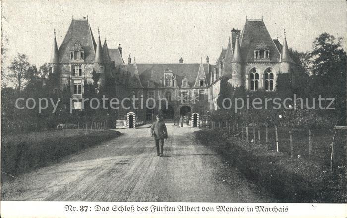 Marchais Schloss des Fuersten Albert von Monaco Kat. Marchais