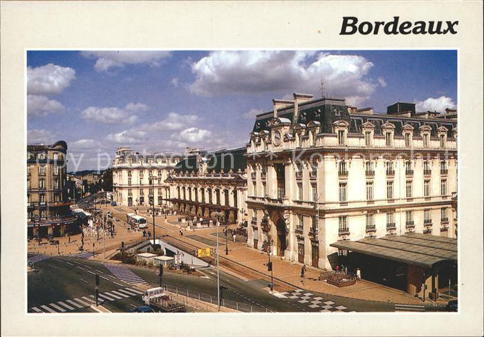 Bordeaux La gare St Jean Kat. Bordeaux