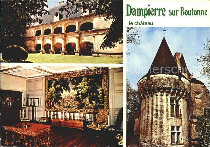 Dampierre sur Boutonne Le Chateau Kat. Dampierre sur Boutonne