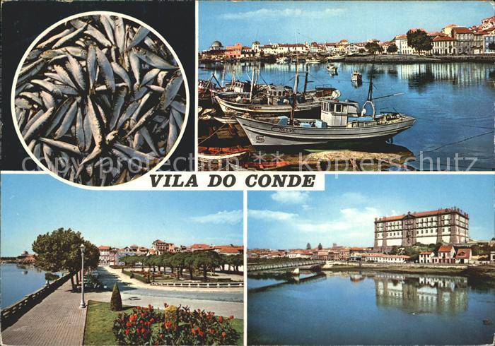Vila do Conde Hafenpartie Promenade HOtel Kat. Vila do Conde