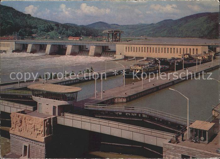 Persenbeug Gottsdorf Donau Kraftwerk Ybbs Kat. Persenbeug Gottsdorf