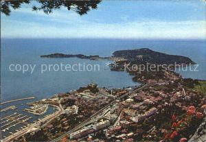 Beaulieu sur Mer et Cap Ferrat vue panoramique Cote d Azur Kat. Beaulieu sur Mer