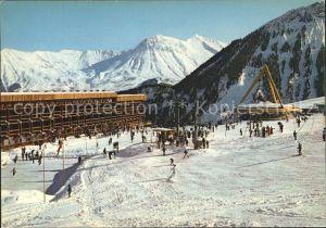 Saint Jean de Maurienne La Maurienne en hiver Les Aiguilles d Arves Alpes francaises Kat. Saint Jean de Maurienne