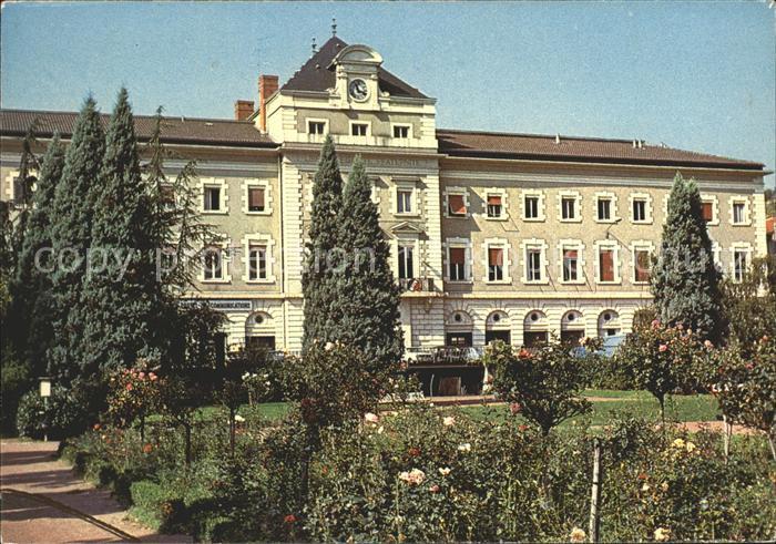 Rive de Gier Jardin Public et Hotel de Ville Kat. Rive de Gier