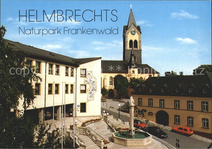 Helmbrechts Oberfranken Rathaus Kat. Helmbrechts