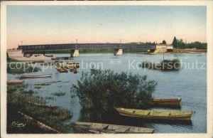 Belleville-sur-Saone La Saone et le Pont / Belleville /Arrond. de Villefranche-sur-Saone