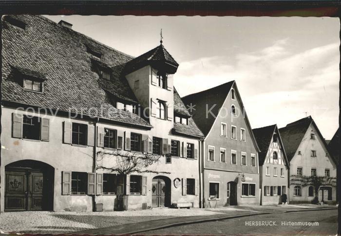 kf77382 Hersbruck Hirtenmuseum im Eisenhuettlein Kat. Hersbruck