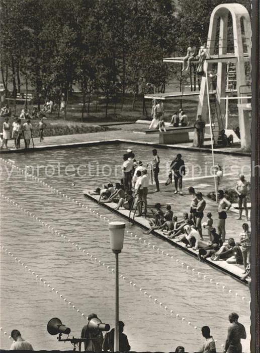 Traunreut Schwimmbad Kat. Traunreut