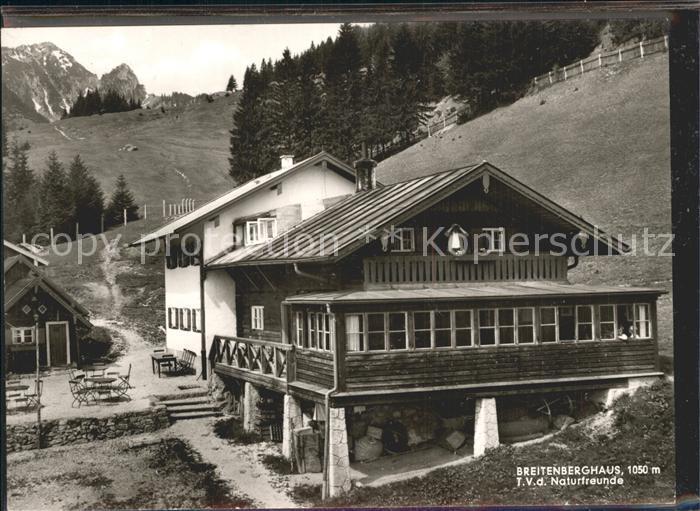 Brannenburg Breitenberghuette Kat. Brannenburg