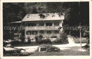 Oberau Berchtesgaden Gasthof Kat. Berchtesgaden