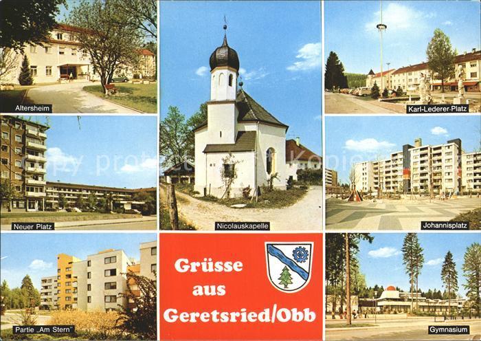Geretsried Johannisplatz Karl Leder Platz  Kat. Geretsried
