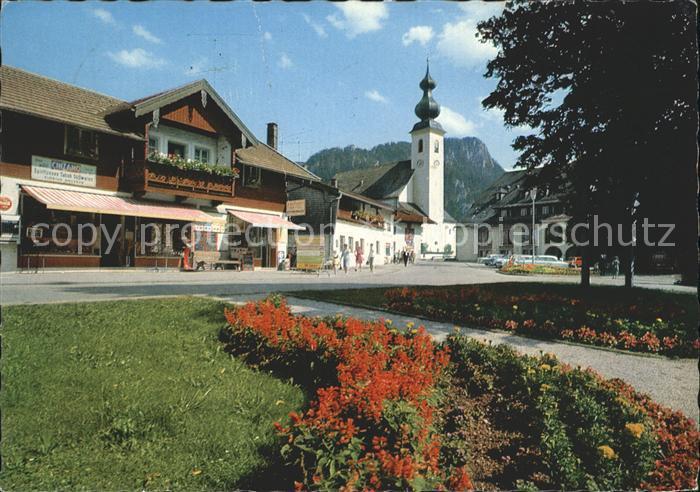 Inzell Dorfplatz Kat. Inzell