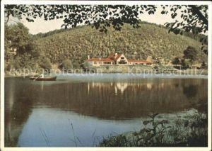 Ramsen Pfalz Gasthaus Forelle am See Kat. Ramsen
