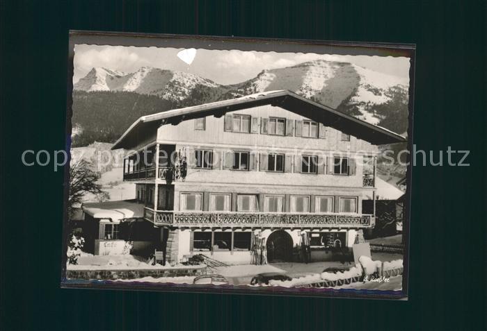 Steibis Alpengasthof Hochgrat  Kat. Oberstaufen