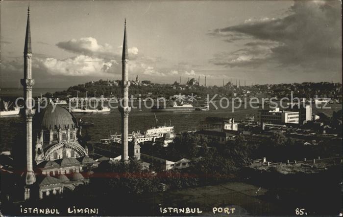 Istanbul Constantinopel Hafen  Kat. Istanbul