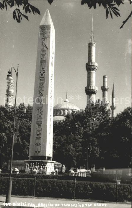 Istanbul Constantinopel Obelisk Kat. Istanbul