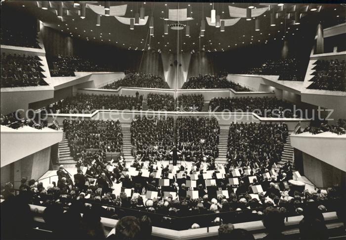 Berlin Konzertsaal Philharmonie  Kat. Berlin
