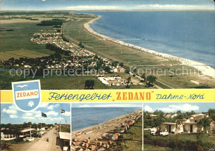 Dahme Ostseebad Feriengebiet Zedano  Kat. Dahme