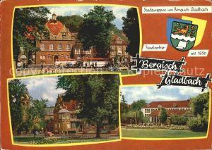 Bergisch Gladbach Rathaus Kirche Schule Kat. Bergisch Gladbach
